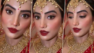 दुल्हन की तरह सजीं भोजपुरी एक्ट्रेस Akshara Singh, खूबसूरत Video देखकर हैरान हुए फैंस
