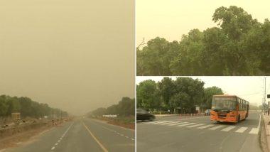 Delhi-NCR Weather: दिल्ली-एनसीआर में बदला मौसम का मिजाज, चल रही आंधी, तापमान में गिरावट से लोगों को मिली गर्मी से राहत