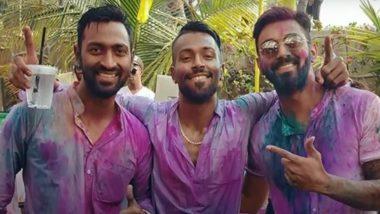 Happy Holi 2021: होली के शुभ अवसर पर क्रिकेटरों ने अपने तरीके से दी फैंस को बधाई