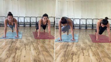 Morning Motivation: Malaika Arora ने अपनी योगा कोच के साथ मजेदार अंदाज में किया Plank, फिटनेस मोटिवेशन दे रहा ये Video