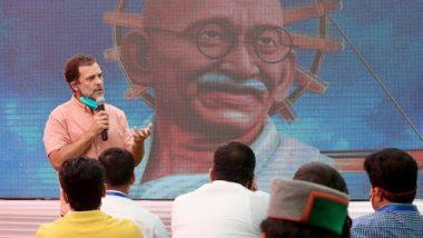 राहुल गांधी ने कहा, भारत की विविधता और संस्कृति को बचाने के लिए हमें RSS खिलाफ लड़ना होगा