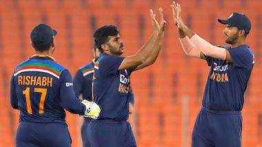 Ind vs Eng 5th T20I 2021: टीम इंडिया ने T20I सीरीज पर 3-2 से जमाया कब्जा, बल्लेबाजों के बाद गेंदबाजों ने भी किया शानदार प्रदर्शन
