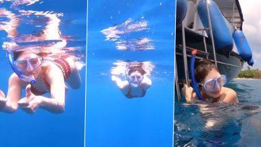 स्विमसूट पहनकर जलपरी की तरह तैरती नजर आईंShefali Jariwala, हॉट अंडरवॉटर Video हुआ Viral