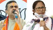 West Bengal Assembly Elections 2021: बीजेपी से शुवेंदु अधिकारी को नंदीग्राम से टिकट मिलने पर ममता बनर्जी को किया चैलेंज, कहा- हराकर भेजूंगा