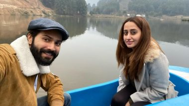 पत्नी नताशा दलाल संग रोमांटिक बोट राइड करते नजर आए Varun Dhawan, फोटो शेयर कर लिखा- हनीमून पर नहीं हूं