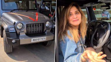 Bigg Boss 13 फेम Arti Singh ने अपनी कमाई से खरीदीथार जीप, गर्व से खुश हुए भाई Krushna Abhishek ने शेयर किया Video