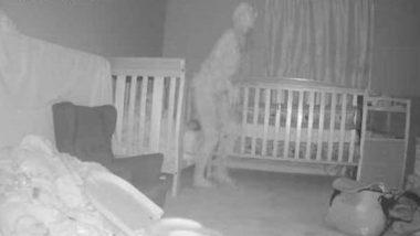 Scary Photos: अपनी पोती के बिस्तर के पास रहस्यमय आकृति देख महिला के उड़े होश, हैरान करने वाली तस्वीरें हुईं वायरल