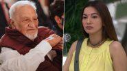 पिता के निधन के चलते सदमे में हैं गौहर खान