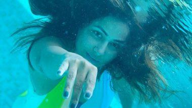 Hina Khan Hot Photos: आलिया भट्ट के बाद हिना खान भी बनी जलपरी, अंडरवाटर फोटोज शेयर जीता फैंस का दिल
