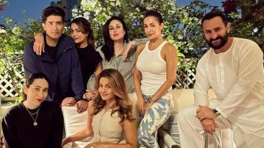 दूसरे बच्चे के जन्म के बाद Kareena Kapoor और Saif Ali Khan साथ साथ आए नजर, दोस्तों के साथ कैमरे के सामने दिया पोज