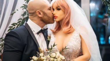 Sex Doll गर्लफ्रेंड से शादी करके सुर्खियां बटोरने वाले शख्स ने लिया तलाक, सोशल मीडिया पर अपनी नई पार्टनर से कराया परिचय