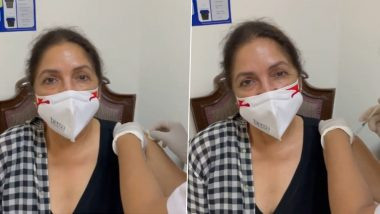 Neena Gupta ने डरते डरते लगवाई कोरोना वैक्सीन, फनी वीडियो किया शेयर