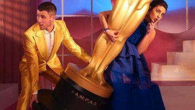 Oscars 2021: Priyanka Chopra ने पति निक जोनस संग किया नॉमिनेशंस का ऐलान, मस्ती भरा फोटो किया शेयर