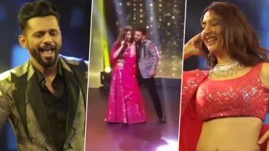 VIDEO: Rahul Vaidya और Disha Parmar ने बॉलीवुड गानों पर किया धमाकेदार डांस, दोस्त की शादी में खूब जमाया रंग