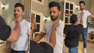 Rohit Reddy ने पकड़ा Rahul Vaidya का कॉलर, दोनों के बीच धक्का-मुक्की काVideo इंटरनेट पर हुआ Viral