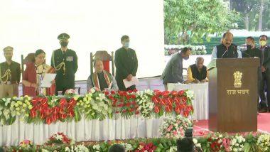 Uttarakhand Cabinet Expansion: उत्तराखंड में तीरथ सिंह रावत कैबिनेट का हुआ विस्तार, इन नेताओं ने ली मंत्री पद की शपथ