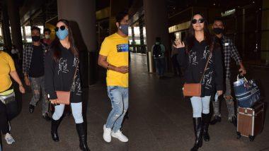 Sapna Choudhary ने छोड़ा अपना इंडियन अवतार, Airport पर वेस्टर्न लुक में ढाया कहर