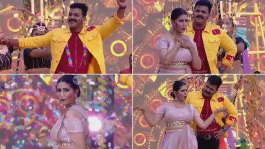Bhojpuri सुपरस्टार Pawan Singh और Sapna Choudhary का धमाकेदार डांस, देखें ये Holi 2021 का ये स्पेशल Video