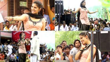 Sapna Choudhary ने 'तू चीज लाजवाब' गाने पर किया धांसू डांस, दिलकश Video देख मदहोश हुए फैंस