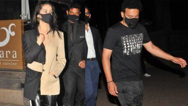 Shraddha Kapoor अपने बॉयफ्रेंड Rohan Shrestha के साथ देर रात पहुंची डिनर करने, देखें Photos