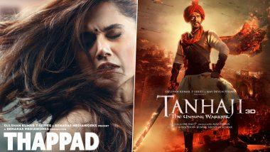 Filmfare Awards 2021 Winners List: फिल्म 'Thappad' और 'Tanhaji' ने जीते सबसे ज्यादा अवॉर्ड्स, Irrfan Khan को दिया गया ये सम्मान