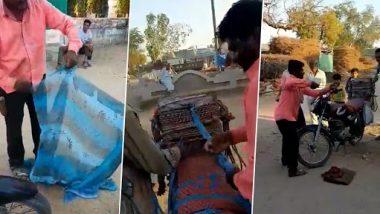 Viral Video: जुगाड़ की मशीन से शख्स ने मिनटों में बनाई पुरानी साड़ी की रस्सी, वीडियो देख रह जाएंगे दंग