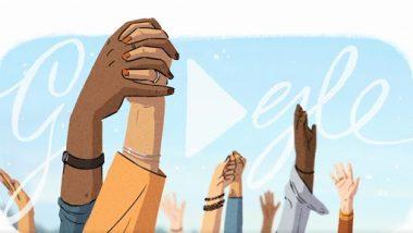 International Women's Day Google Doodle 2021: अंतरराष्ट्रीय महिला दिवस पर गूगल ने शानदार डूडल बनाकर स्त्रियों को किया सम्मानित