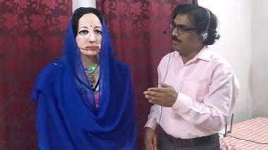 Mumbai Teacher Develops Humanoid Robot Shalu: कम्प्यूटर साइंस टीचर ने बनाया 47 भाषाएं बोलने वाली ह्यूमन रोबोट, देखें वीडियो