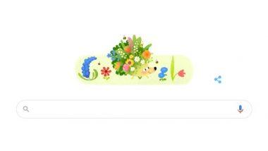 Spring Season Google Doodle 2021: गूगल ने वसंत ऋतू की शुरुआत पर शानदार डूडल बनाकर किया सेलिब्रेट
