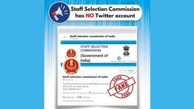 कर्मचारी चयन आयोग के फर्जी ट्विटर हैंडल से हो जाएं सावधान, PIB Fact Check ने खोली पोल