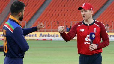 Ind vs Eng 5th T20I 2021: निर्णायक मुकाबले में Eoin Morgan ने जीता टॉस, टीम इंडिया करेगी पहले बल्लेबाजी