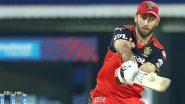 SRH vs RCB 6th IPL Match 2021: हैदराबाद के खिलाफ जुझारू अर्धशतकीय पारी के लिए Glenn Maxwell को मिला 'मैन ऑफ द मैच'