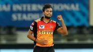 IPL 2021: चोटिल T. Natarajan की जगह इन 3 खिलाड़ियों को मिल सकता है सनराइजर्स हैदराबाद की टीम में जगह