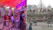 Chaitra Navratri 2021: देशभर में चैत्र नवरात्रि की धूम, माता के मंदिरों में दर्शन करने पहुंचे भक्त- Photos