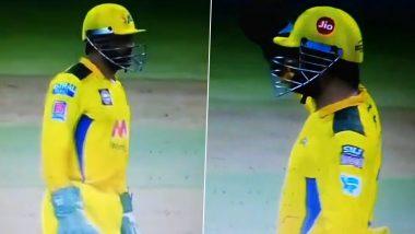 IPL 2021: स्टंप के पीछे फिर धोनी की कमेंट्री, देखें मजेदार वीडियो