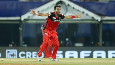 CSK vs RCB 19th IPL Match 2021: आखिरी ओवरों में बैंगलौर के लिए विलेन साबित हुए Harshal Patel, जडेजा ने महज 28 गेंदों में कूट डाले 62 रन, देखें स्कोर
