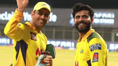 IPL 2021 CSK vs RCB: रविंद्र जडेजा को महेंद्र सिंह धोनी ने दी जबरदस्त सलाह, स्टंप माइक से हुआ खुलासा