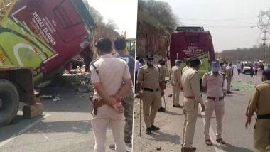 MP Bus Accident: दिल्ली से घर लौट रहे प्रवासी मजदूरों से भरी बस पलटी, कम से कम 2 की मौत, 8 जख्मी