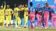 IPL 2021 CSK vs RR: चेन्नई और राजस्थान की भिड़ंत आज, ये खिलाडी वानखेड़े में मचा सकते है धमाल