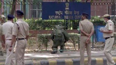 Delhi: नेशनल मीडिया सेंटर के पास मिली संदिग्ध वस्तु, मौके पर डॉग स्क्वायड और बम निरोधी दस्ता मौजूद