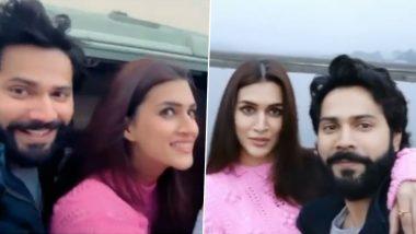 Varun Dhawan और Kriti Sanon ने फिल्म Bhediya के सेट से खास वीडियो किया शेयर, शेड्यूल हुआ खत्म