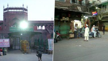 Delhi: रमजान का पहला रोजा आज, कोरोना के चलते सूना रहा जामा मस्जिद का बाजार- कई दुकानें बंद
