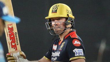 IPL 2021 DC vs RCB: एबी डीविलियर्स की तूफानी पारी, रॉयल चैलेंजर्स बैंगलौर ने दिल्ली कैपिटल्स को दिया जीत के लिए 172 रनों का लक्ष्य