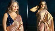 Monalisa Photos: भोजपुरी एक्ट्रेस मोनालिसा ने साड़ी पहनकर दिखाया अपना ग्लैमरस अवतार, कातिलाना लुक से कर रही हैं घायल