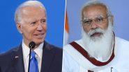 प्रधानमंत्री मोदी, बाइडन ने कोविड-19 महामारी से निपटने में भारत, अमेरिका के सहयोग पर 'अत्यंत गर्व' जताया