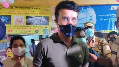 West Bengal Assembly Elections 2021: टीम इंडिया के पूर्व कप्तान और BCCI के अध्यक्ष सौरव गांगुली ने अपना वोट डाला