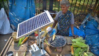 VVS Laxman ने ट्विटर पर शेयर की सोलर पैनल से भुट्टे पकाने वाली बुजुर्ग महिला की तस्वीर, वायरल हो रहा ये पोस्ट