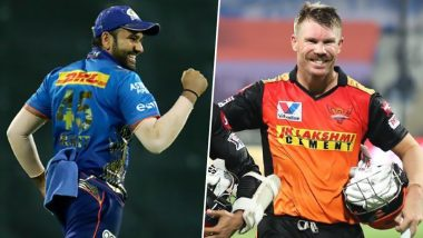 IPL 2021 SRH vs MI: आज के मैच में बन सकते कई बड़े रिकॉर्ड, रोहित शर्मा-डेविड वॉर्नर रच सकते इतिहास