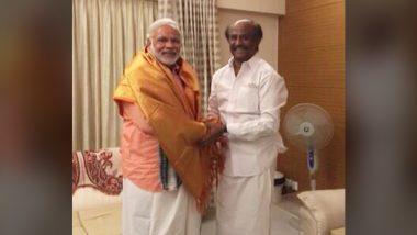 PM Modi Congratulates Rajinikanth: रजनीकांत को दादासाहेब फाल्के पुरस्कार की घोषणा पर पीएम मोदी ने दी बधाई,देखें फोटो
