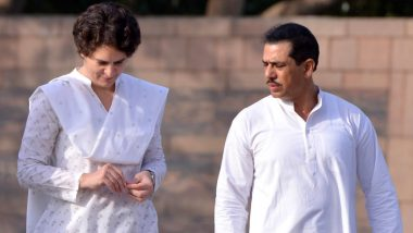 पति रॉबर्ट वाड्रा के कोविड संक्रमित होने के बाद प्रियंका गांधी हुई क्वारंटाइन, सभी दौरे रद्द